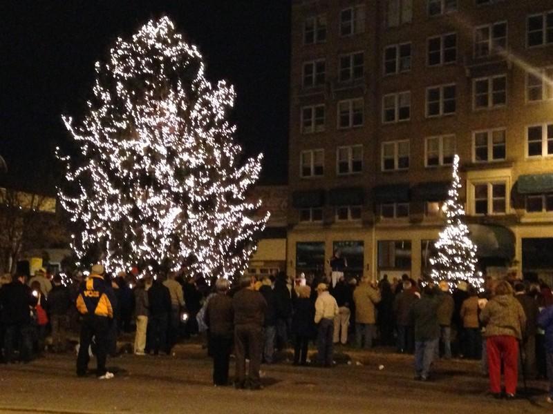 Annual Christmas Tree Lighting 2013