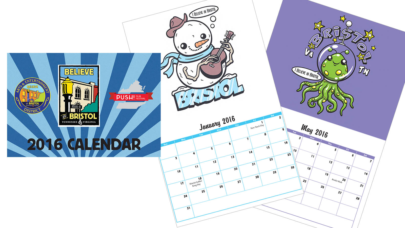 2016 Mythical Creatures Calendar