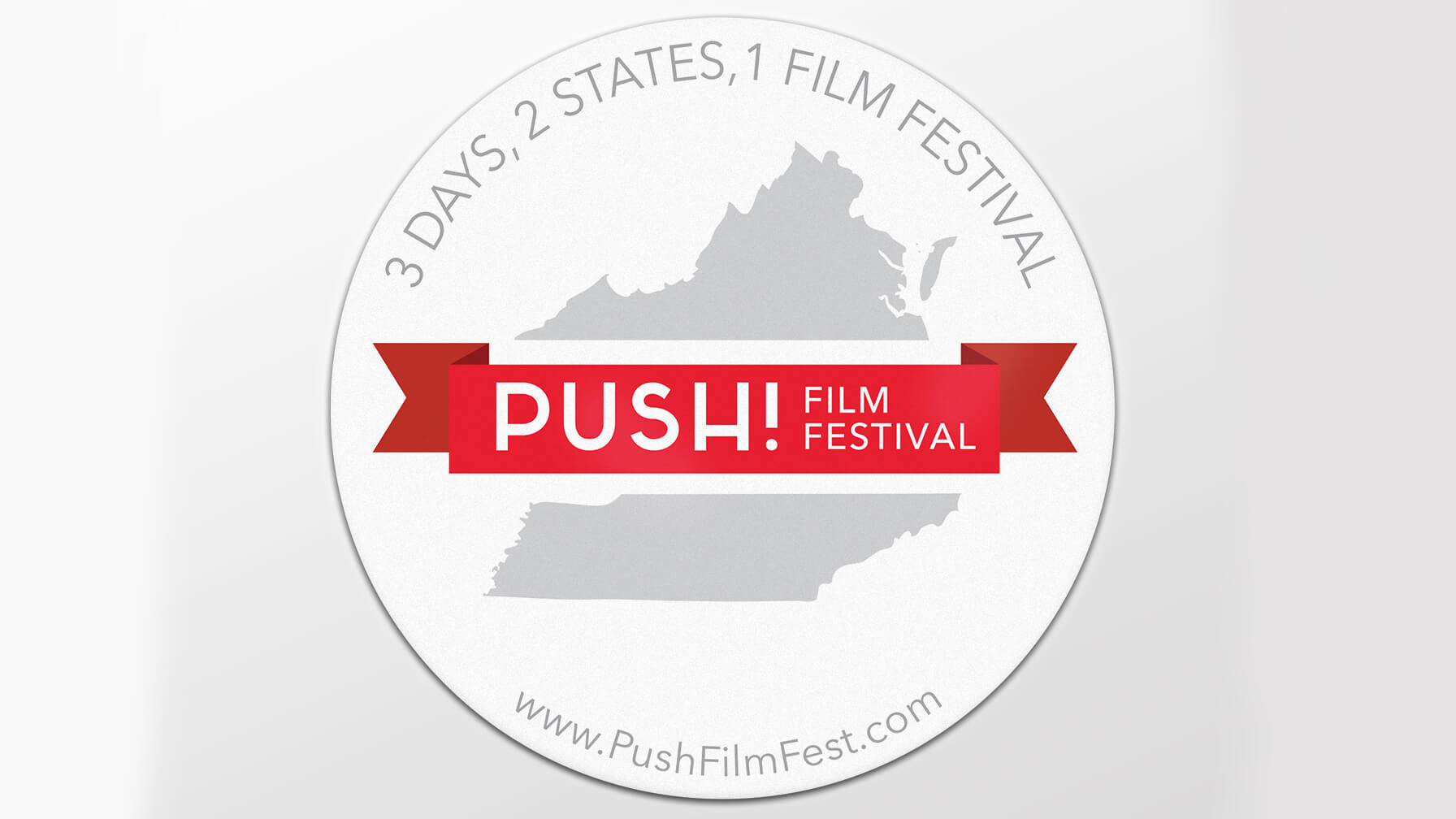 PUSH! Film Festival Sticker