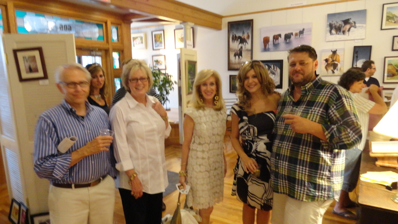 Peyton Boyd, Candy Snodgrass, Mary Jane Miller, Christina Blevins and Chris Sloce at 606 State Stree
