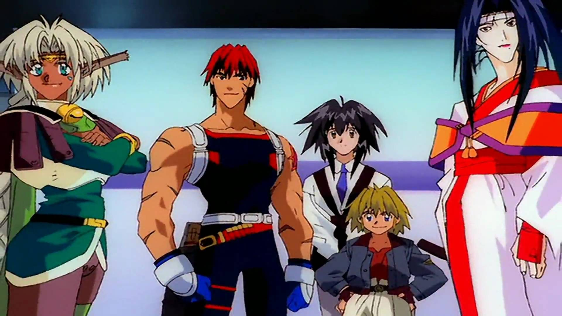 Anime Characters 90s : Bpl anime club outlaw star at bristol public library